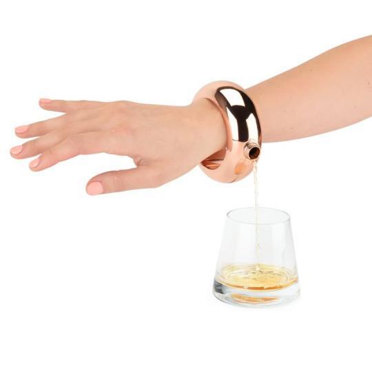 Charade: Bracelet Flask by Blush, $38 @smile.amazon.com