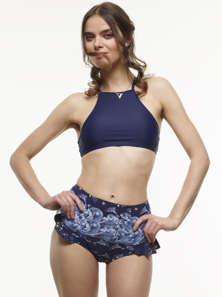 Vaute Midnight Blue Bikini, Sold as separates - $66 each.