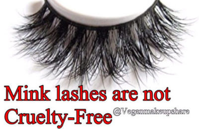 Mink Lashes Are Not Cruelty-Free!