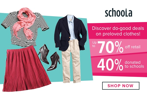 Schoola gives your school cash for your old stuff!