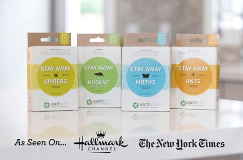 earthkind stay away, varies on size of pack - between $5-30 @amazon.com