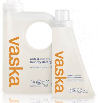 vaska Perfect Laundry Detergent, Scent Free, 42 Fluid Ounce, $13 @amazon.com