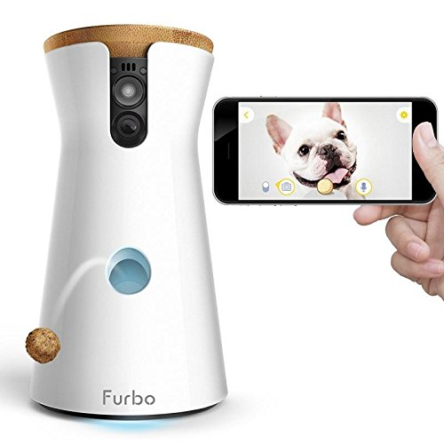Furbo Dog Camera: Treat Tossing, Full HD Wifi Pet Camera and 2-Way Audio, Designed for Dogs, Works with Amazon Alexa, $250 @amazon.com