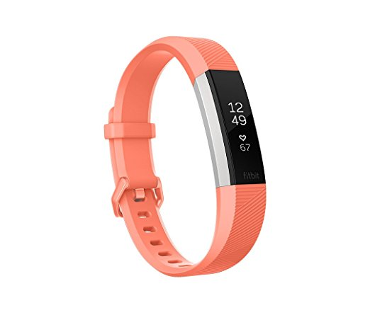 Fitbit Alta HR, Coral, $137 @amazon.com