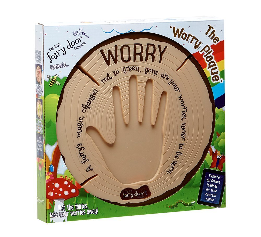 The Irish Fairy Door Company - Interactive Worry Plaque, $40-60 @amazon.com