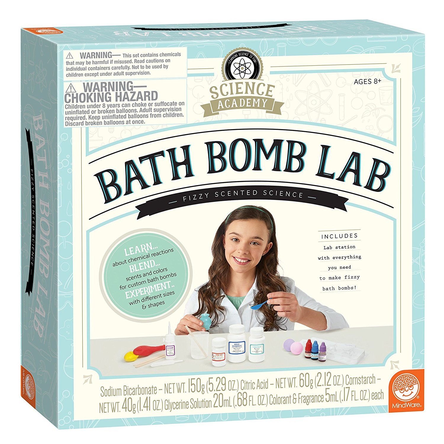 Bath Bomb Lab, $35 @amazon.com
