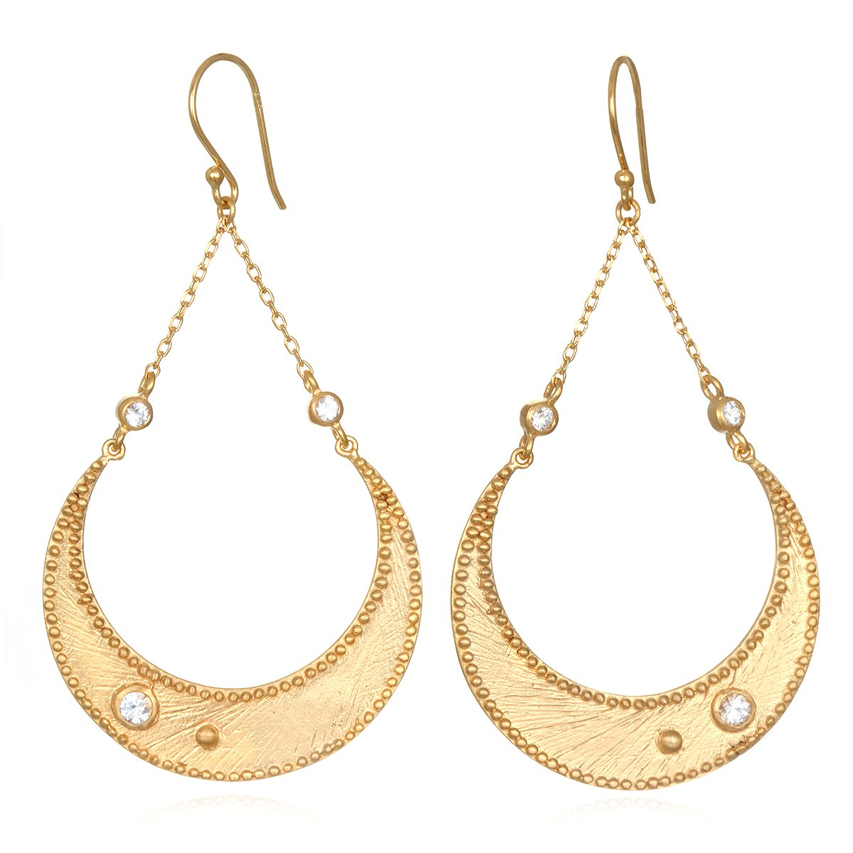 Enchanting Moonbeams Earrings, $149 @satyajewelry.com