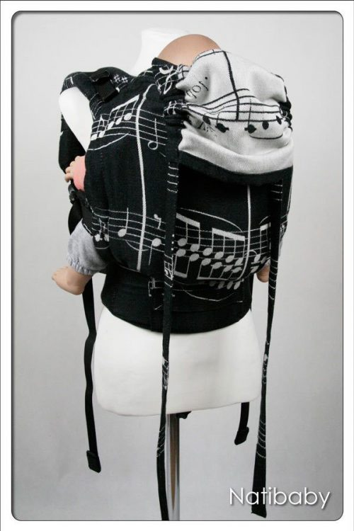 Nati Notes NatiGo Soft Structured Carrier, $176 @wrapyourbaby.com