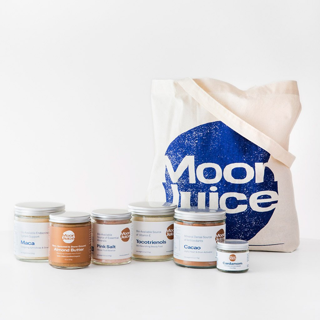 New Moon Pantry Starter Superfoods Kit , $115 @moonjuice.com