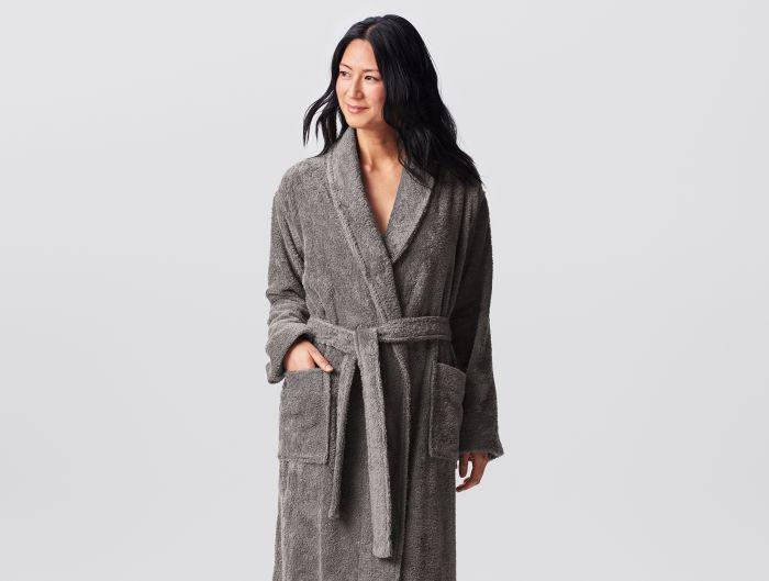 Unisex Cloud Loom Organic Robe, $118 @coyuchi.com