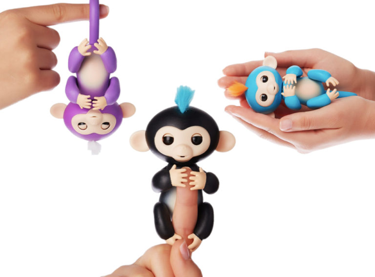 WowWee Fingerlings Interactive Baby Monkey, $50 @amazon.com