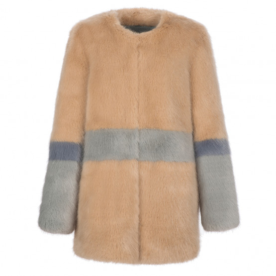 Garfunkel Faux-Fur Coat, £595 @shrimps.co.uk