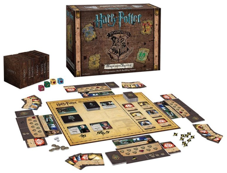 Harry Potter Hogwarts Battle A Cooperative Deck Building Game, $41 @amazon.com