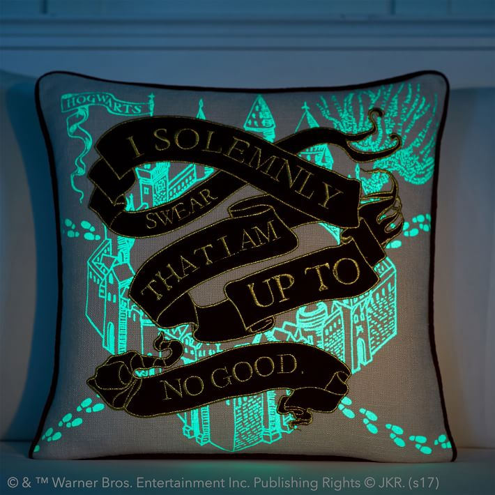 HARRY POTTER™ Marauder's Map Pillow Cover, $49 @PBTEEN.com