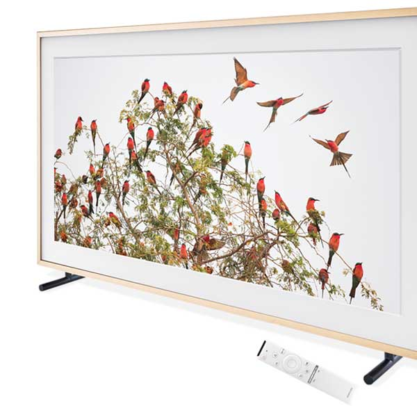 "Samsung UN55LS003AFXZA Flat 55"" LED 4K UHD The Frame SmartTV 2017, $2k"