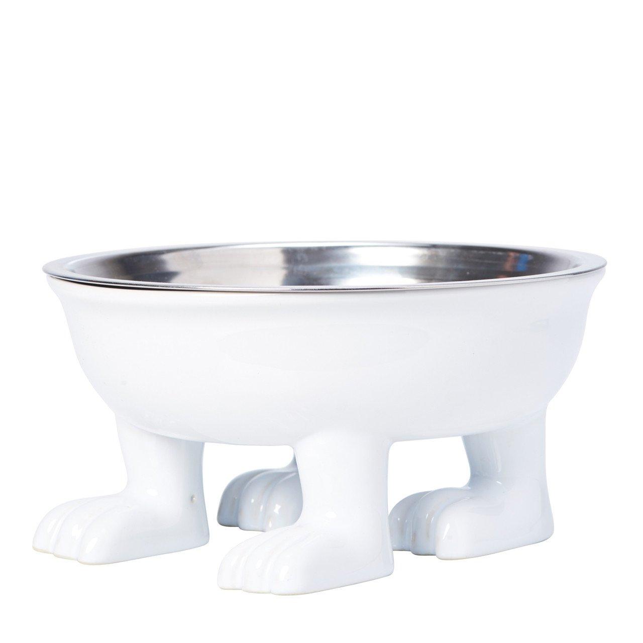 Ceramic Large Dog Bowl on Paws, $26 @dylankendall.com