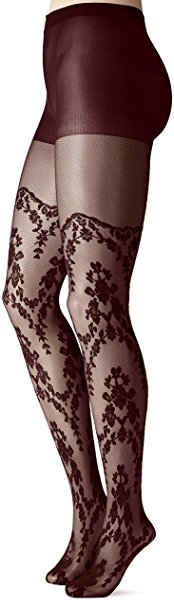 Jessica Simpson Women's Faye La Vie Boheme Mix Media Sheer Tights, $18