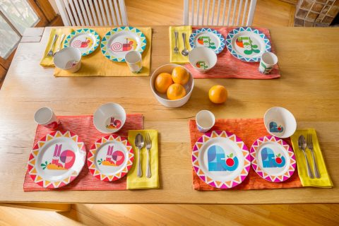 Eco Bamboo Dishes from Dylan Kendall Kids Dishes, $2.99 & up - sets for toddlers, babies, & kids! @dylankendall.com
