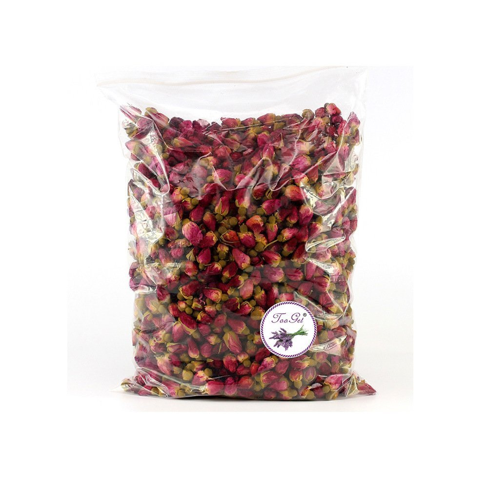 What could possibly be more romantic than your lover making you a bath full of organic dried baby roses? 8 oz for $19
