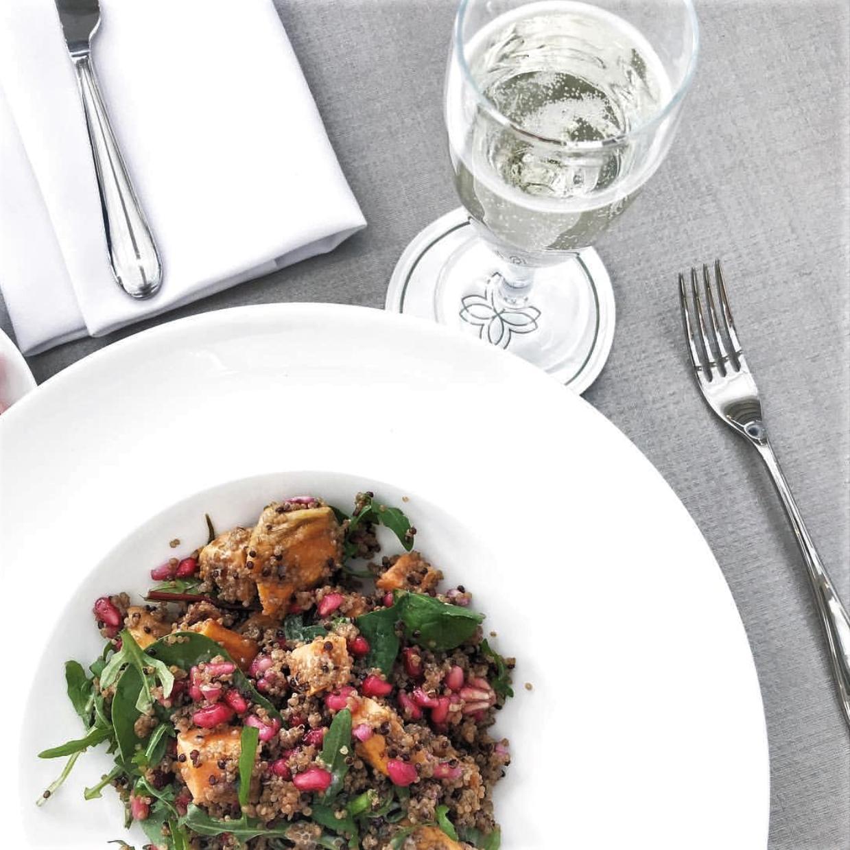 Recipe: Quinoa, Fennel & Sweet Potato Salad Photo by Stephanie Harper