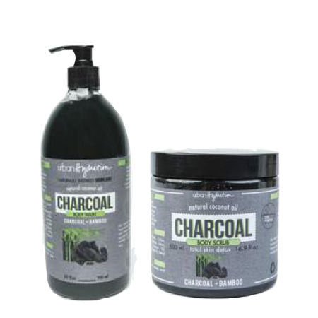 Urban Hydration Charcoal & Bamboo Body Wash & Scrub $12.99 - $14.99 @urbanhydration.com & amazon.com