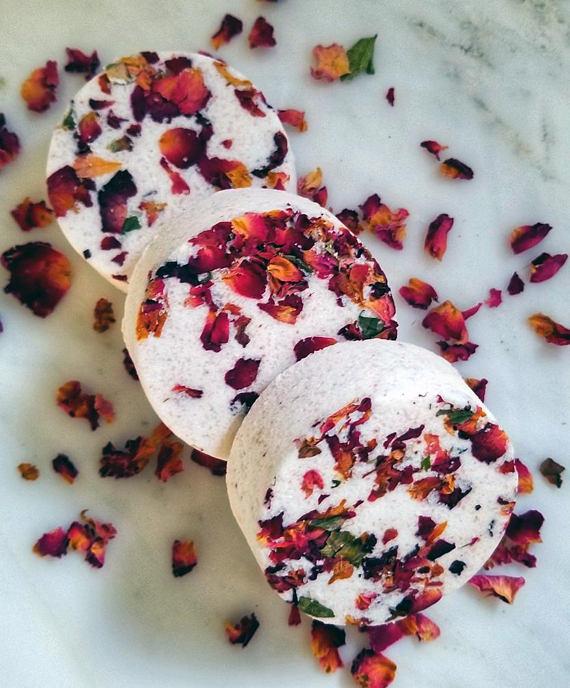 Rose Petal Bath Bomb, $8 @etsy.com