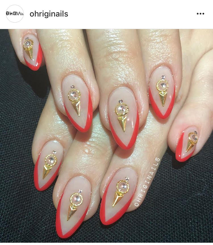 "Gina Aka ""The Hand"" is the hottest star in nails in NYC, as she says; ""When your nails are on point, your life is on point."" If you get your honey an appointment with Gina, she'll trip! Book by emailing or calling: Ohriginailsbooking@gmail.com/ 585-402-5567 - prices start at $100 and up."