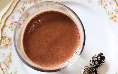Vegan Mocha Tahini Milkshake Ingredients