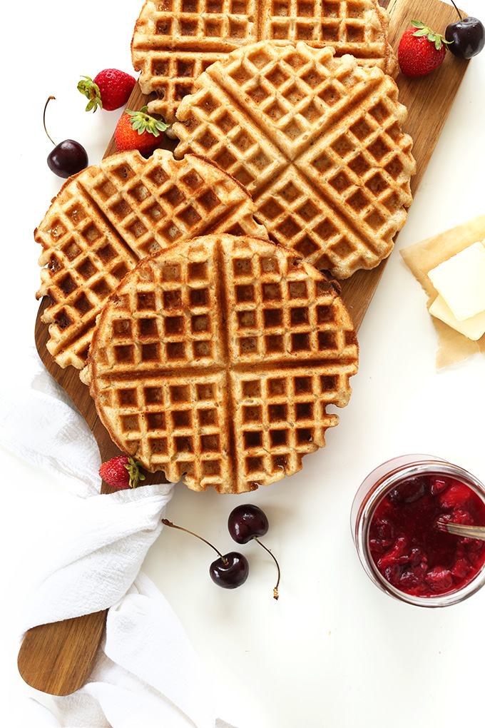 7-INGREDIENT VEGAN GLUTEN-FREE WAFFLES