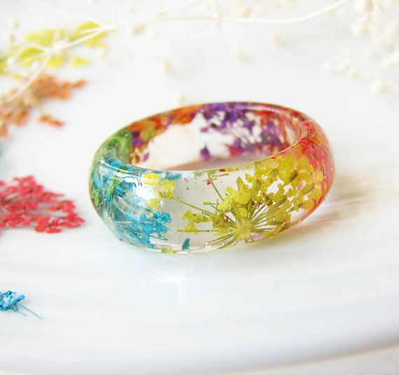 Eco-Resin Ring, $20 @etsy.com