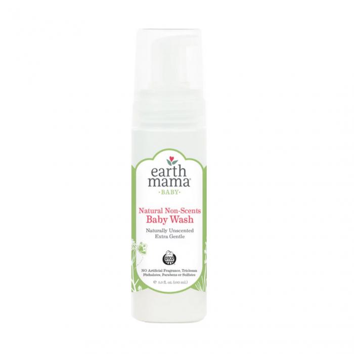 Earth Mama Natural Non-Scents Baby Wash, $10 @sproutsanfrancisco.com