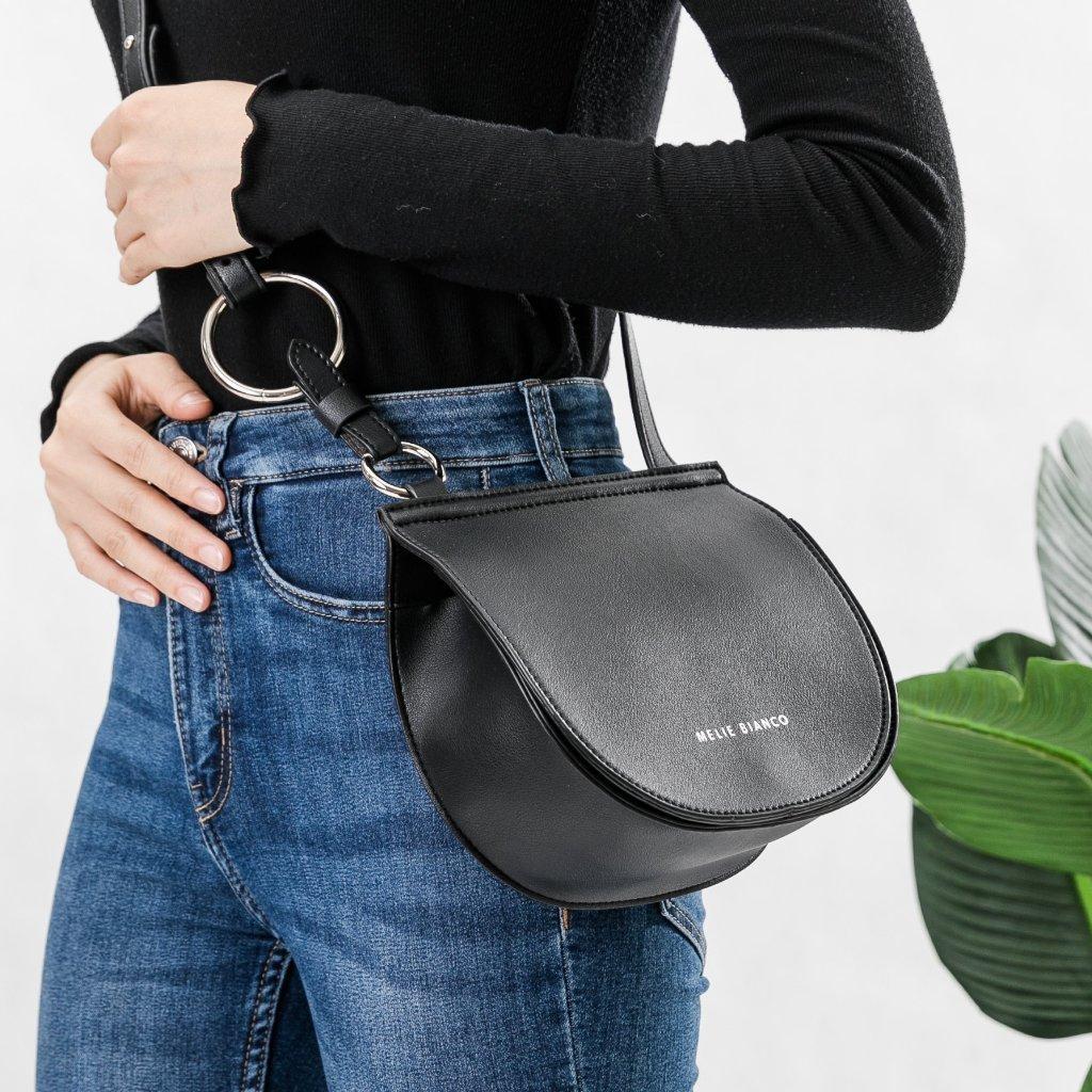 Aly Black Crossbody Bag, $49 @meliebianco.com