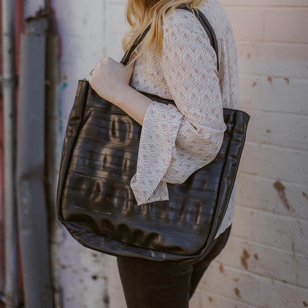 ALCHEMY GOODS Rainier Zippered Shoulder Bag $99.95, @earthhero.com