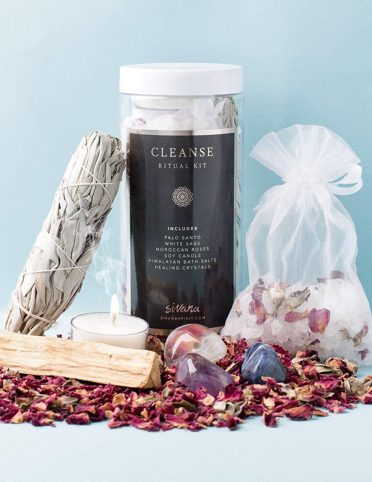 Cleanse Ritual Kit, $40 @sivanaspirit.com