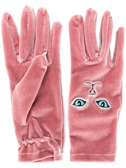 Vivetta cat gloves, $102 @farfetch.com