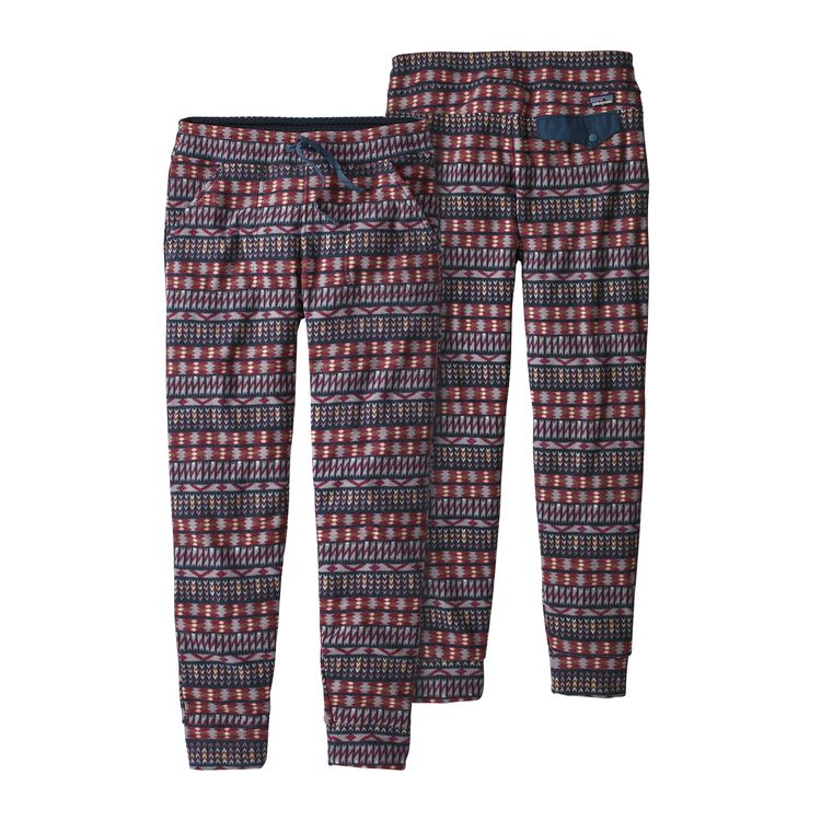 Patagonia Women's Snap-T™ Fleece Pants, $79 @patagonia.com