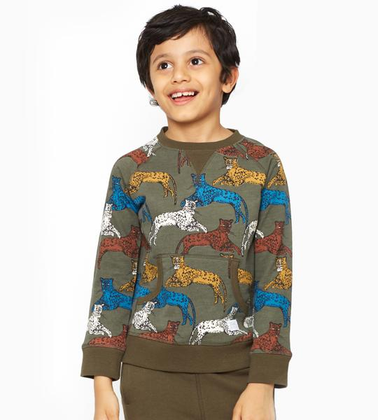 Organic Eli Crew Neck Sweatshirt, $28 @artandeden.com