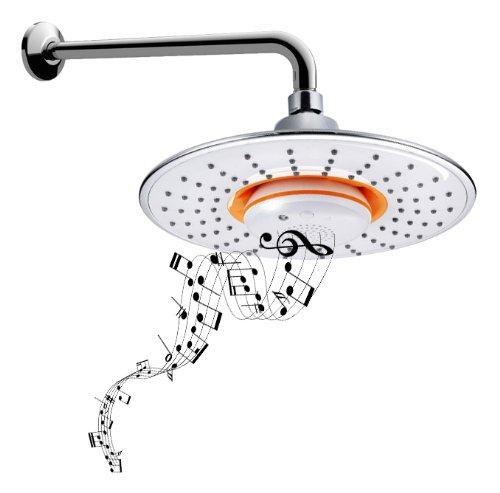 Music Showerhead Waterproof Speaker + Bluetooth, $95 @amazon.com