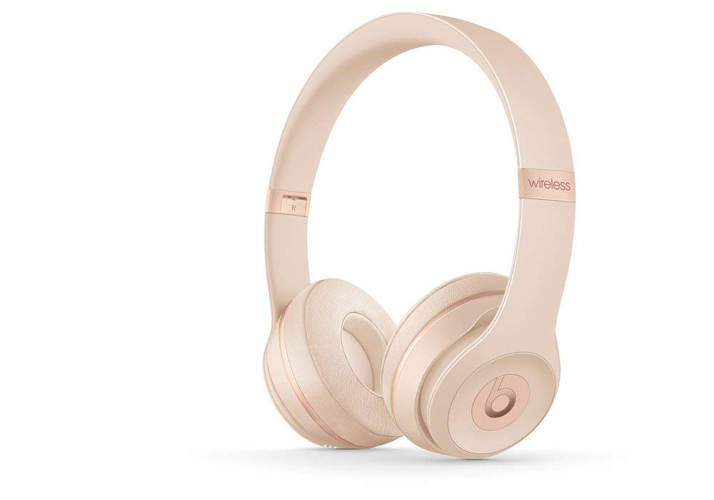 Beats Solo3 Wireless On-Ear Headphones - Matte Gold, $299 @amazon.com