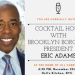 Join Us To Celebrate NYS Senator, NYPD Captain, and Now Brooklyn Borough President, Eric Adams