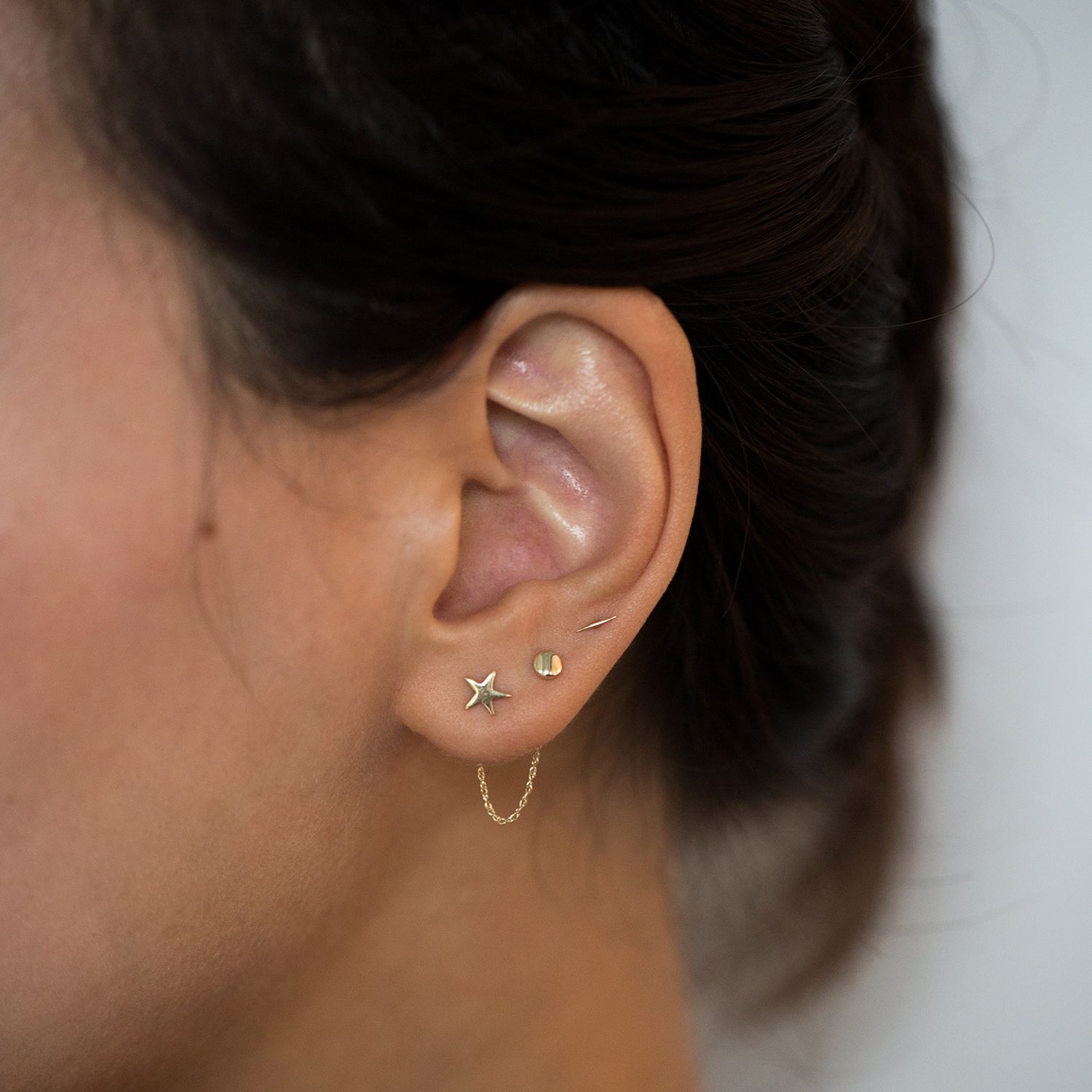 The Claribel Earring Chain, $48 @catbirdnyc.com