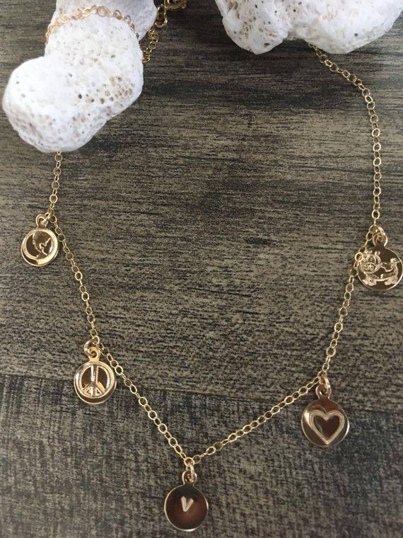 Why I'm Vegan necklace, $98 @etsy.com