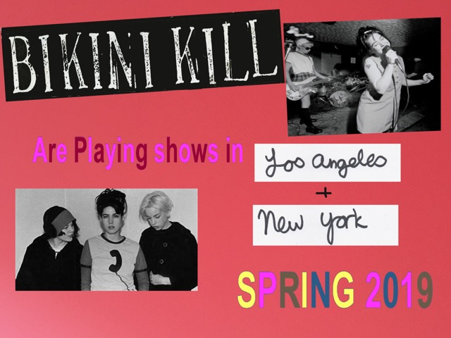 image via Bikini Kill