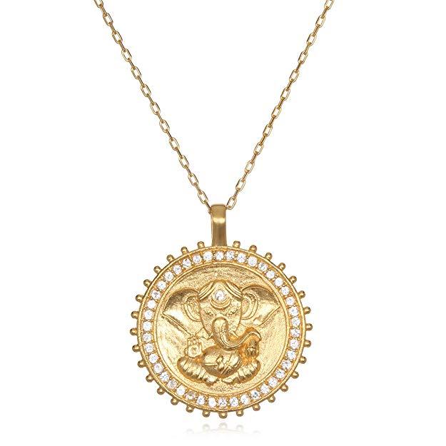 Path To Success Necklace, $149 @satyajewelry.com