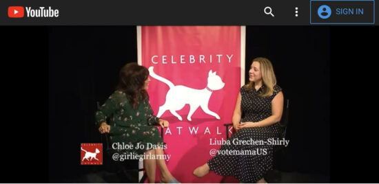 Liuba Grechen Shirly x Chloe Jo Davis Interview