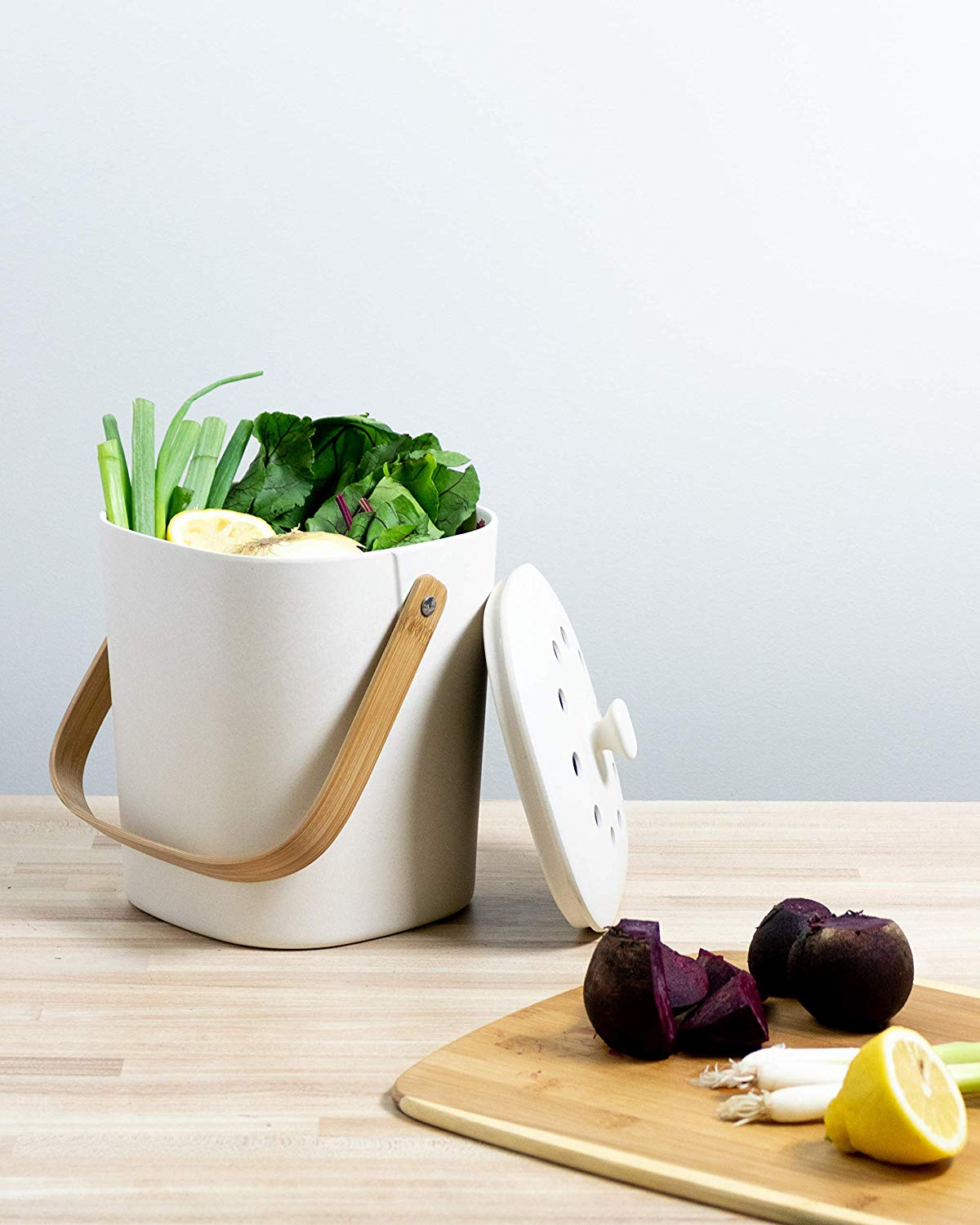 Bamboozle Food Composter, Indoor Food Compost Bin for Kitchen, $39.99 @amazon.com