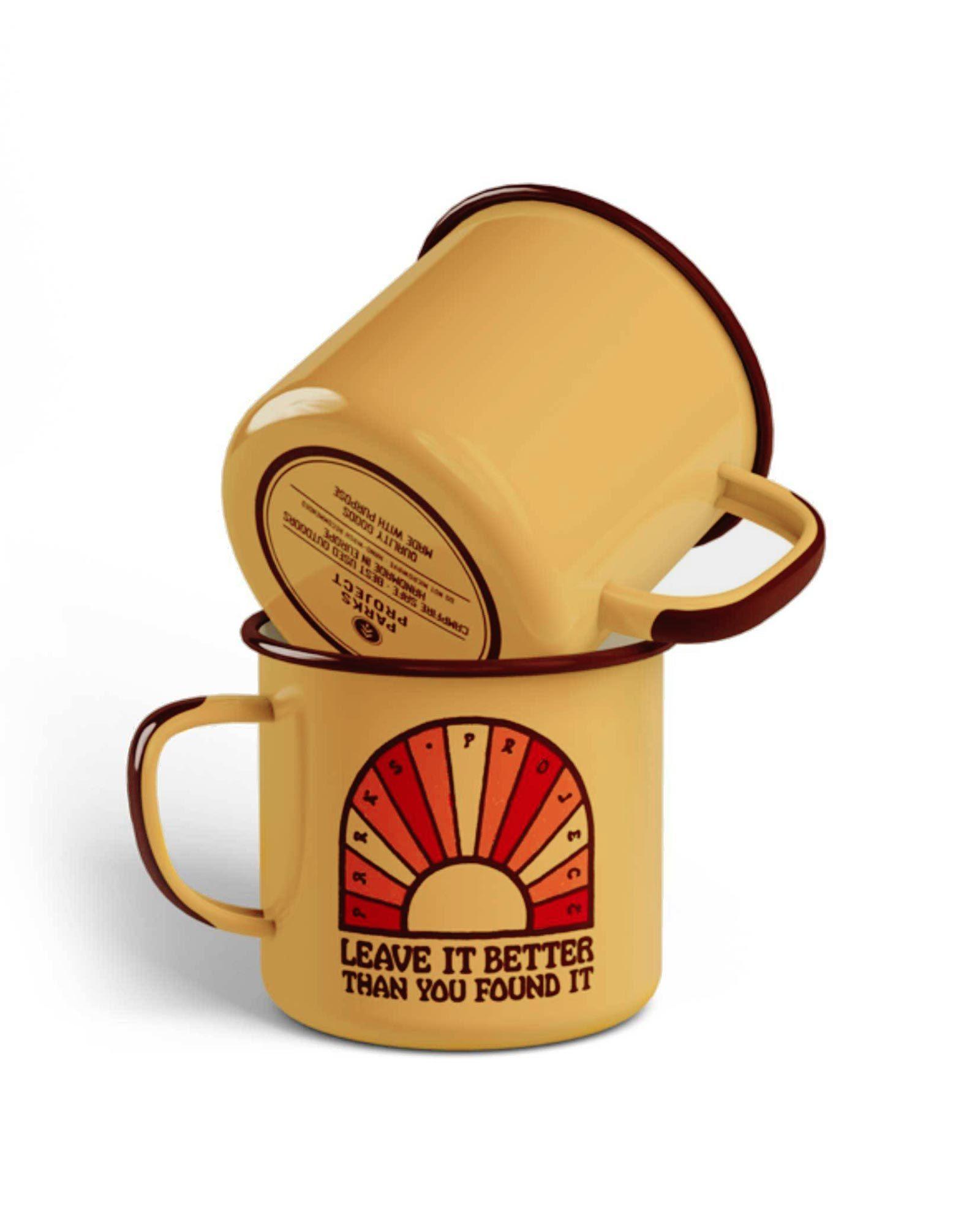 Leave It Better Enamel Mug, $15 @parksproject.us