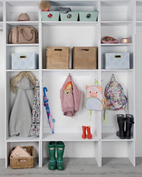 8 Ways To Lower The Morning Stress Level In Your Home (Modular Closets)