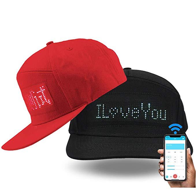Shunpad Custom LED Baseball Cap, $30 @amazon.com