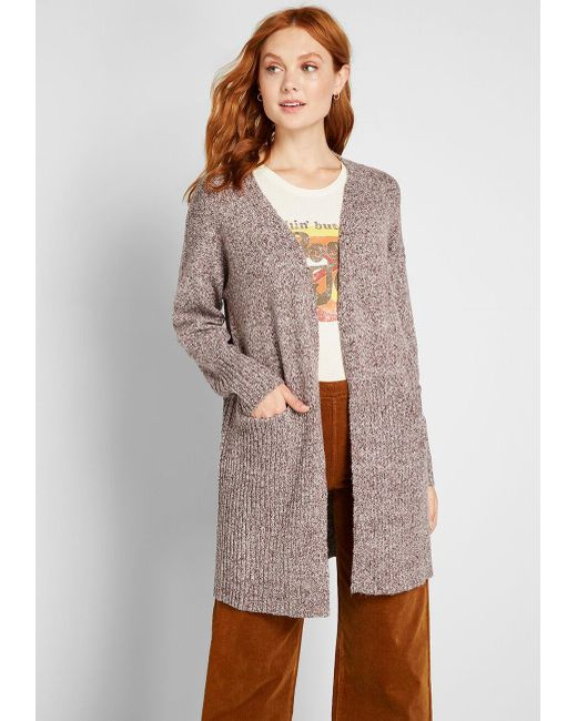 Take the Long Way Cardigan, WAS $59 is NOW $49.99 PLUS An Extra 50% Off Applied in Cart @modcloth.com